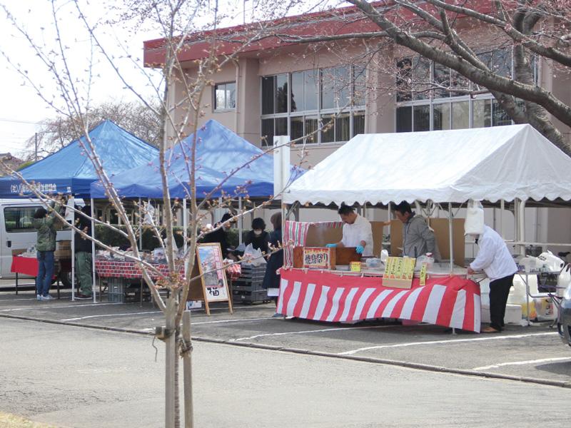 被災地支援で宮城県物産展も開催