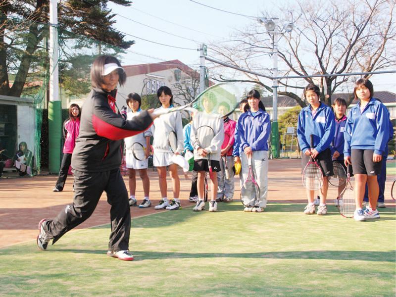 東芝ソフトテニスクリニック