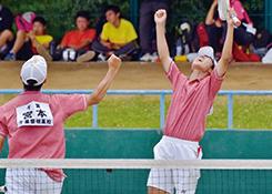 男女ソフトテニス