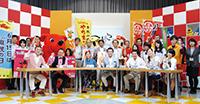 本校生徒が森田健作知事とともに千葉テレビに出演