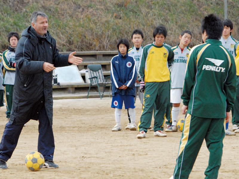 サッカー部サッカー教室