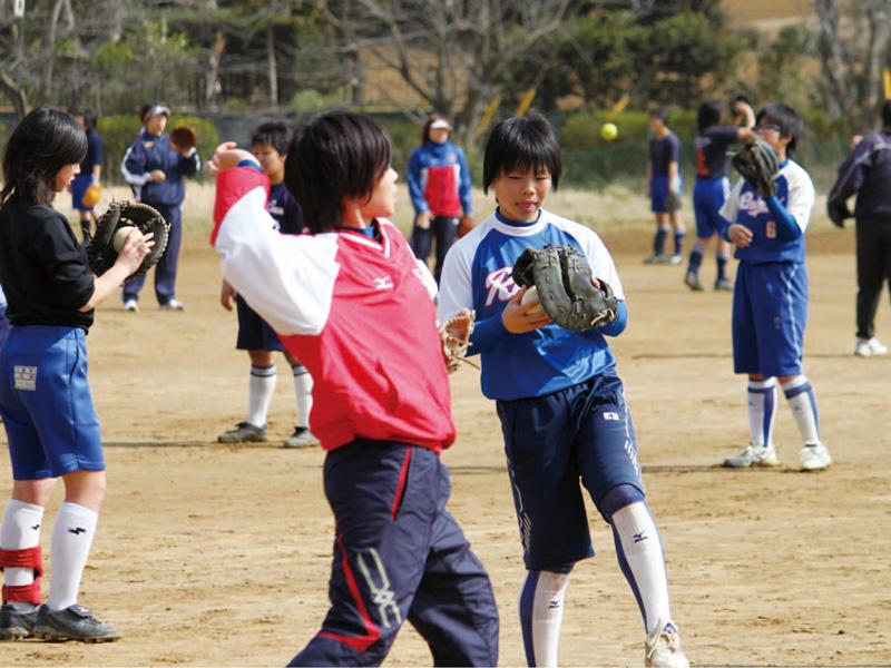 女子ソフトボールクリニック